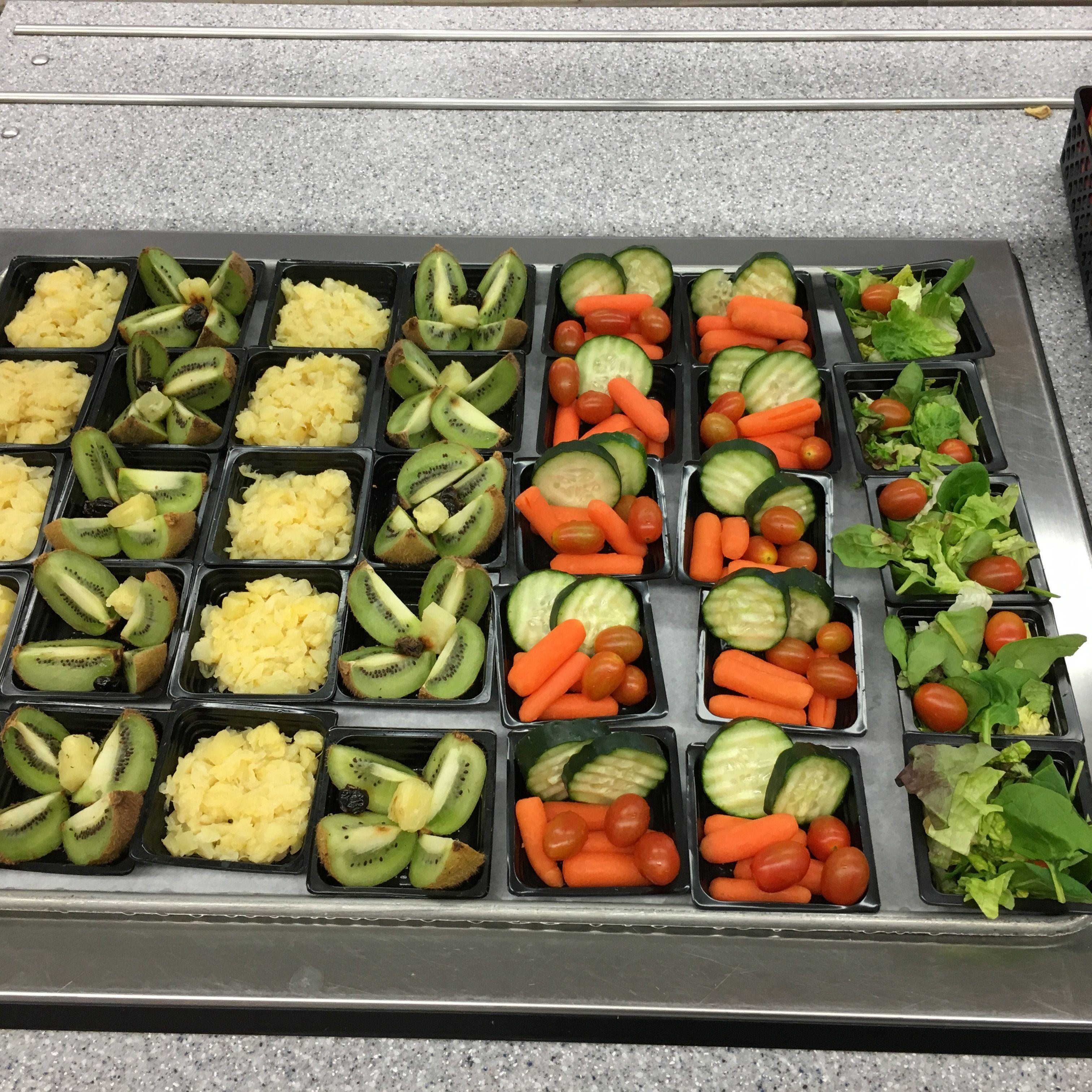 Fruit and veggies at ridge meadows elementary school