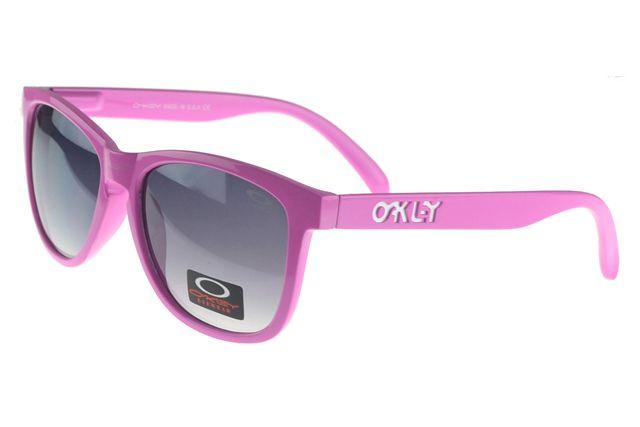 Oakley Frogskin Sunglasses Pink Frame Black Lens : Oakley Outlet