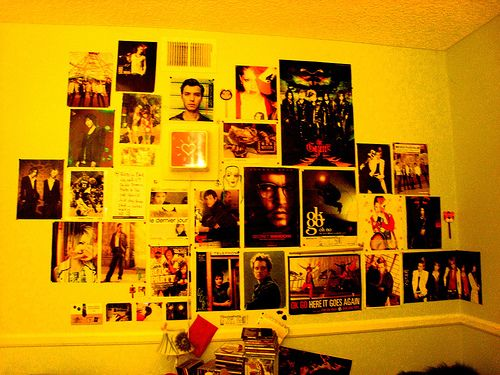 Wall with Posters | Wall Arrangements | Pinterest | Discover more ...
