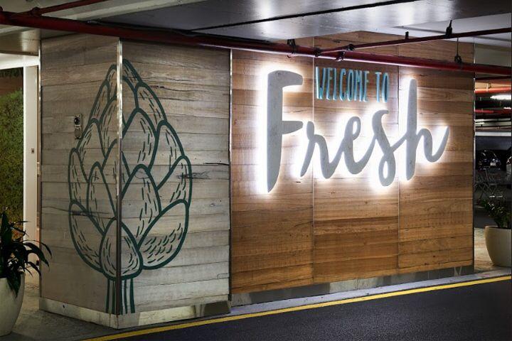 Fresh Signage & Branding at Strathpine Shopping Centre by Dovetail Design Group, Australia