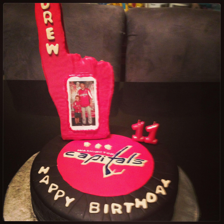 Washington Capitals Birthday Cake Cakes Pinterest Washington