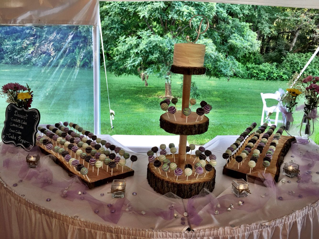 Rustic Cake Purple Oven