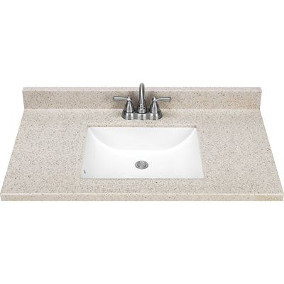 style selections dune solid surface integral 1 bathroom vanity top rh pinterest co uk lowes bathroom vanity tops 48 lowes bathroom vanity tops 48 inch