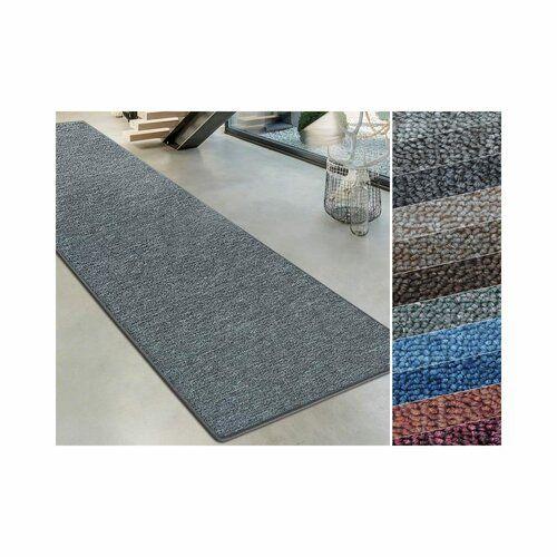 Teppich Marcelle in Dunkelgrau ModernMoments Teppichgröße: Läufer 100 x 1600 cm