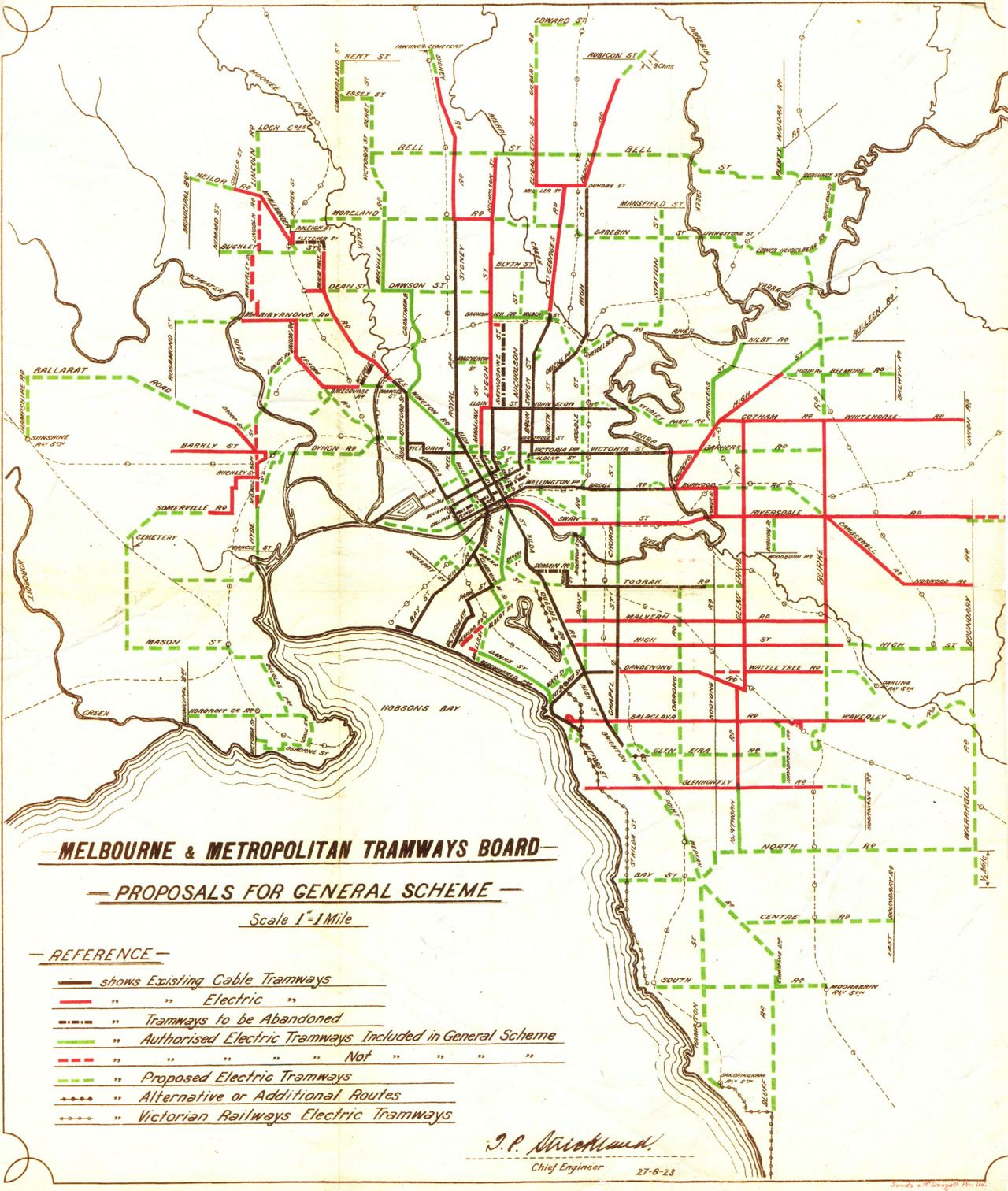1923 planning map Melbourne Pinterest Melbourne and City