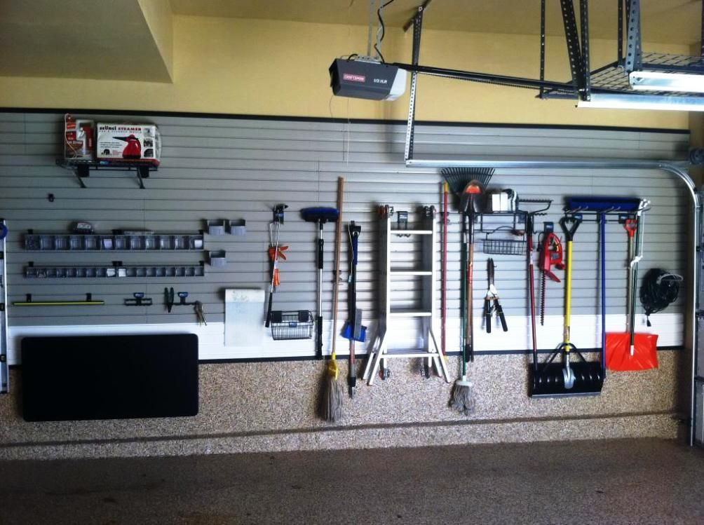 small garage organization ideas