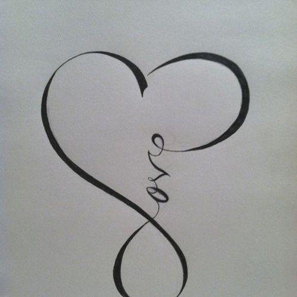 Infinity symbol infinity symbol art symbols tattoos and for Love symbol tattoos