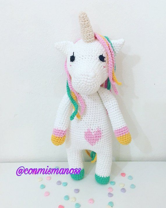 Sofy The Unicorn, Amigurumi Pattern | patrones amigurumi | Pinterest ...
