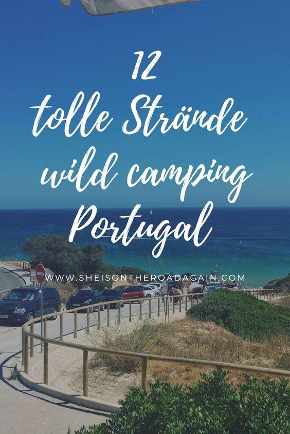 Meine 12 Lieblingsstrände ❤ zum Freistehen in Portugal | She Is On #portugal