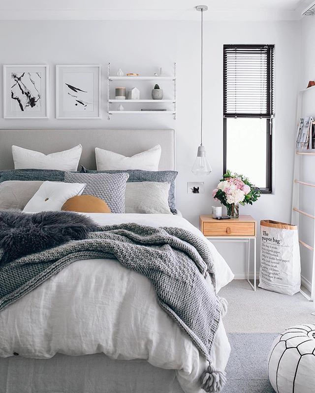 Oh Monday Here Again I Don T Want To Climb Out Of Bed Loving This Gorgeous Look From Oh Eight Remodel Bedroom Bedroom Design Trends Home Decor Bedroom