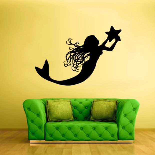 Wall Vinyl Sticker Decals Decor Art Bedroom Design Mural Sea Ocean ...