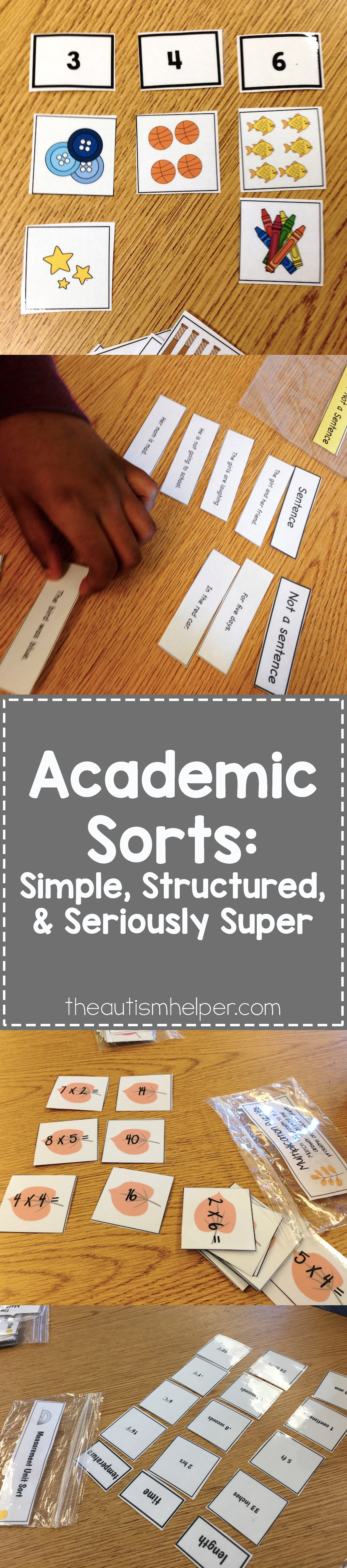 Academic Sorts Simple Structured And Seriously Super