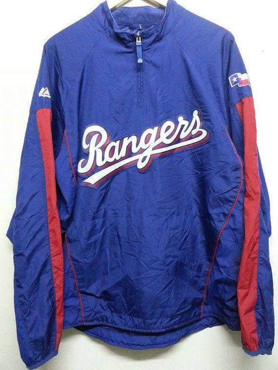 295899fad sale Vintage Rangers Majestic Mlb Baseball by SuzzaneVintage ...