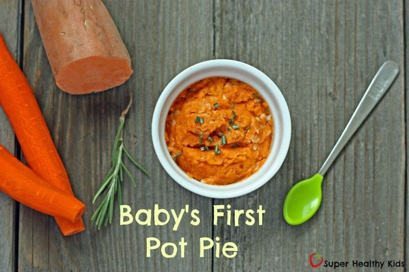 Baby's First Pot Pie. No fillers or additives, just ...