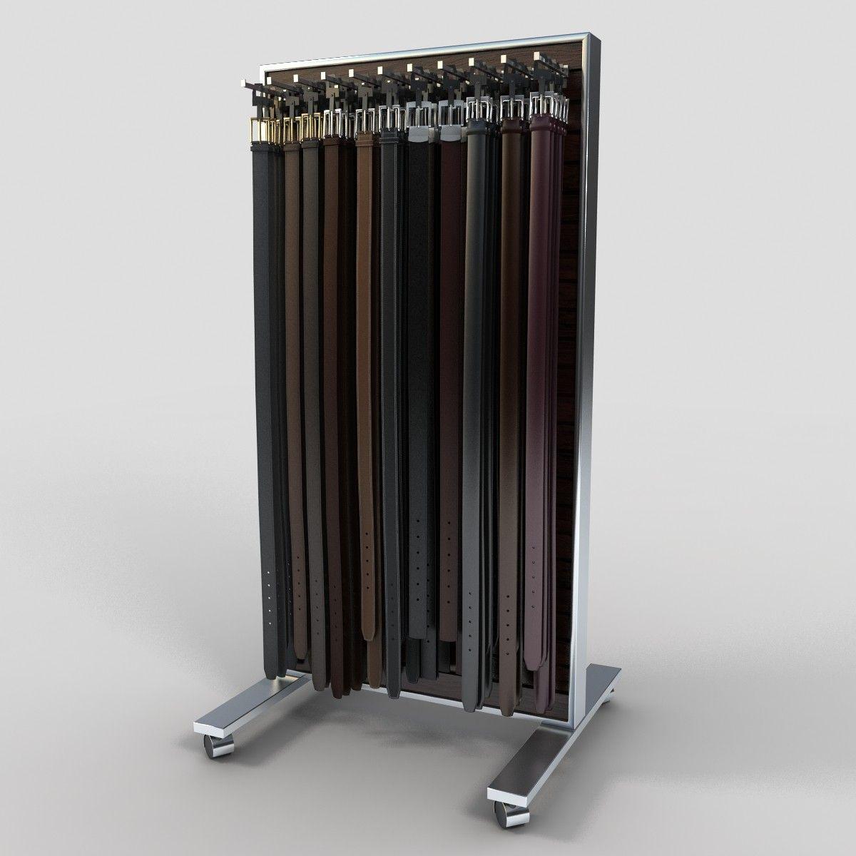 belt organizer accessories capella nickel closet standard satin rack product