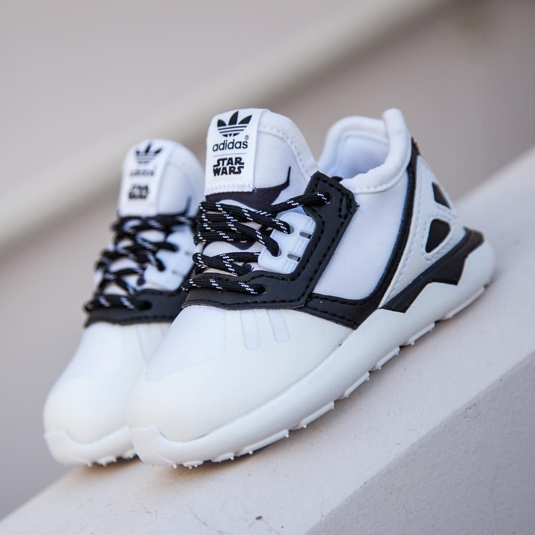 e311d56bebff5 Star Wars x adidas Originals Tubular Runner  Storm Trooper  More. Find this  Pin and more on Kid s fashion ...