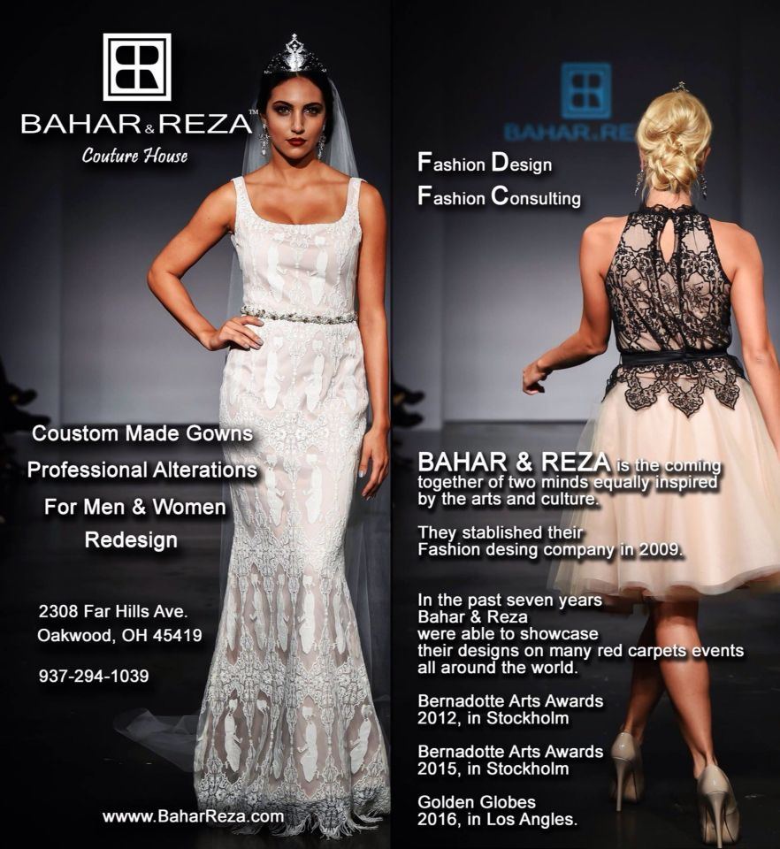 Bahar Reza Will Be At Bridal Open House On Saturday March 5th 9 00 To 2 00 Pm Address Prime Time Party Rental 5225 Bridal Alterations Couture Dresses Fashion