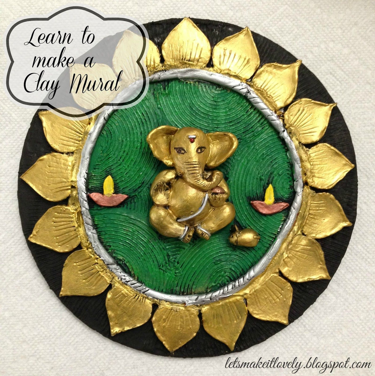 Let S Make It Lovely Clay Wall Art Clay Art Projects Mural Art