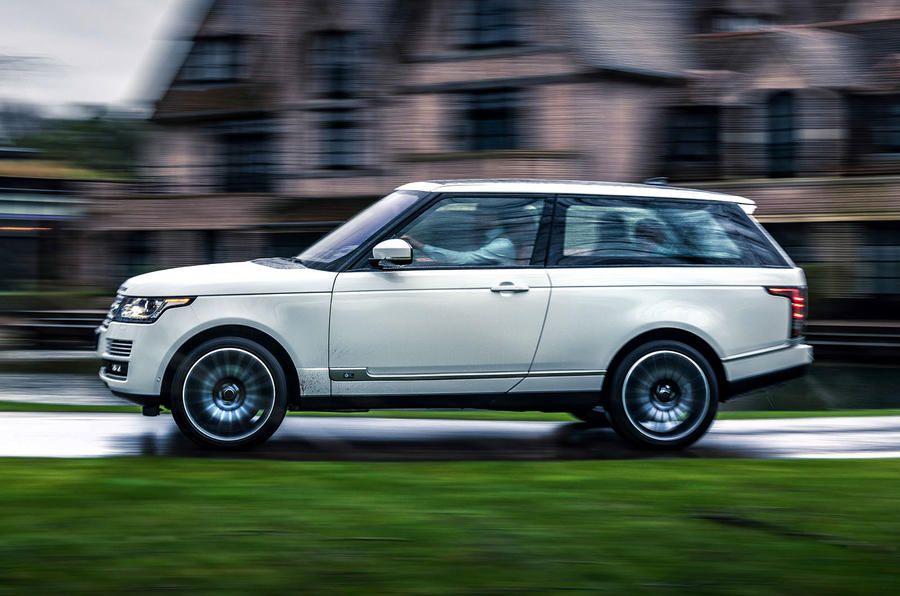 Adventum Coupé Is The Range Rover Coupé Land Rover Denied