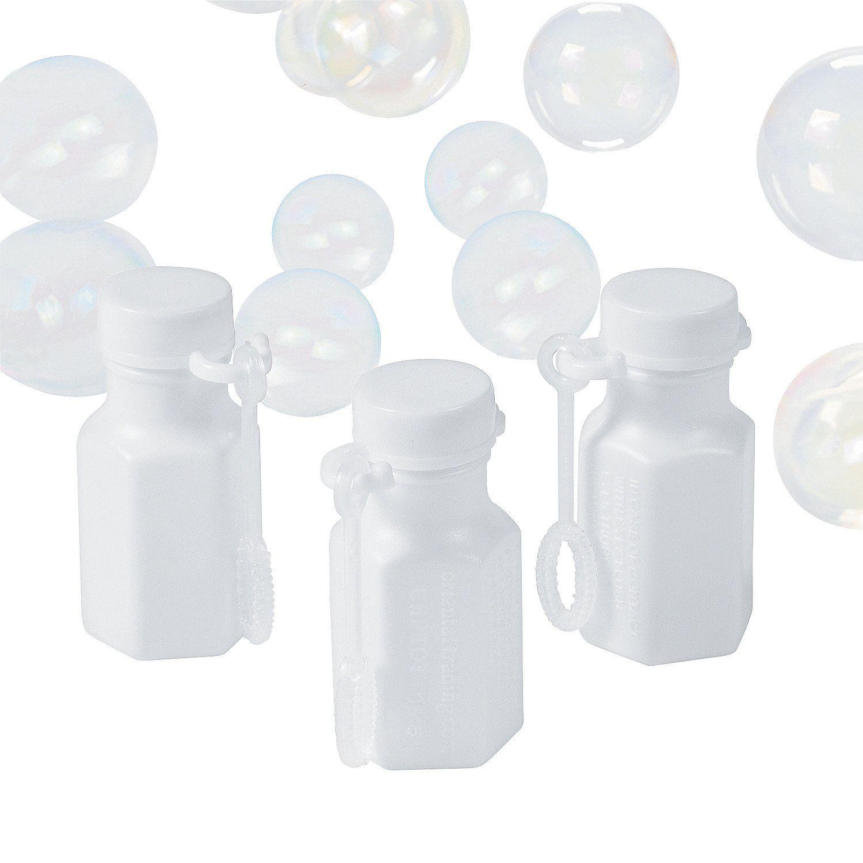 Hexagon White Bubble Bottles | Bottle, Wedding things and Wedding