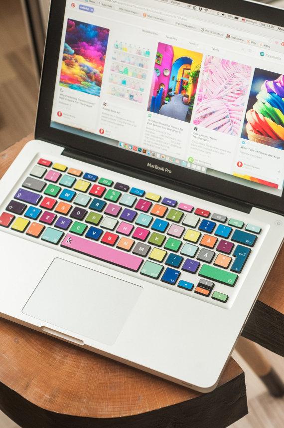 ordinateur portable sticker macbook clavier autocollant macbook