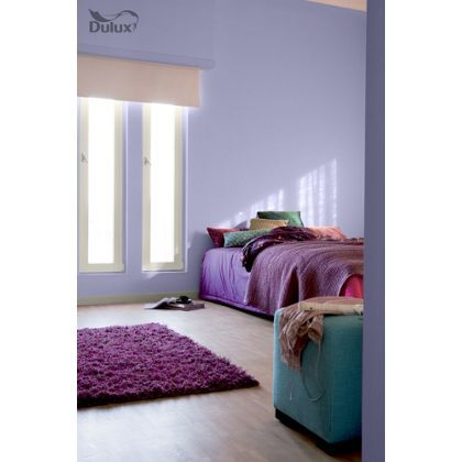 sugared lilac dulux paint - available now at homebase in