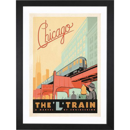 Chicago, Illinois Art Print