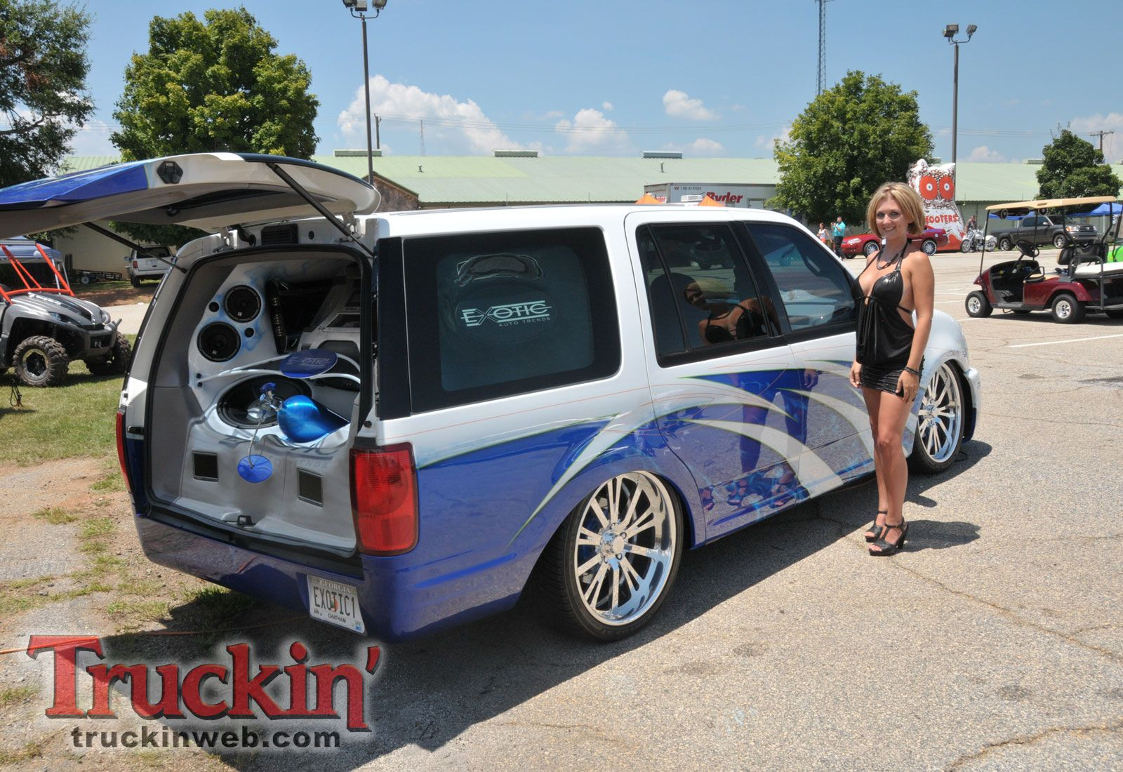 2010 Southeast Showdown Truck Show Ford Expedition Custom Photo 22