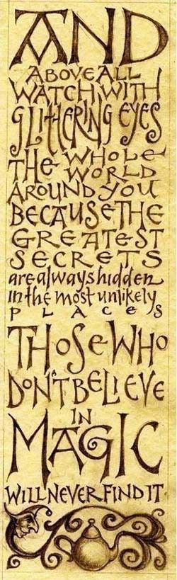 ~ Roald Dahl