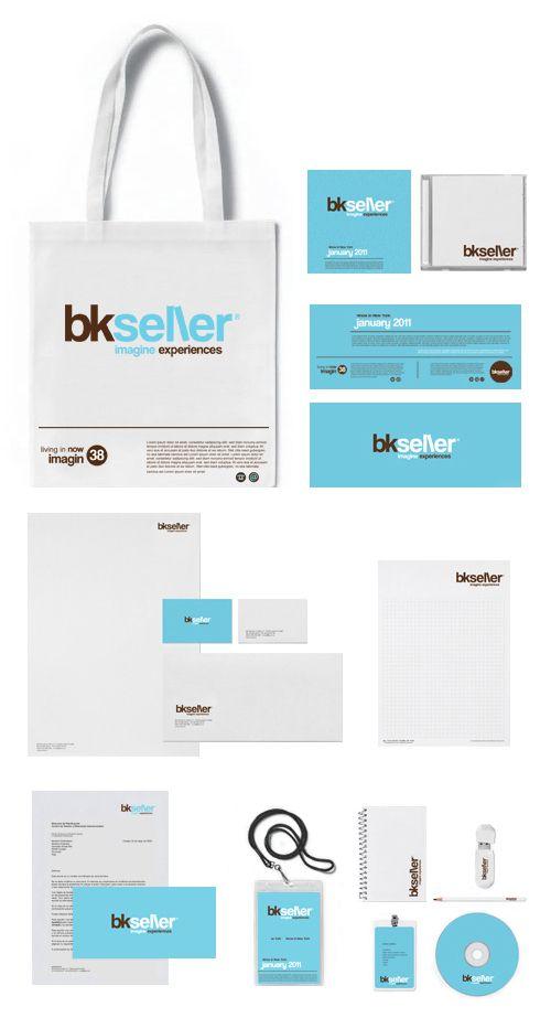 bkseller · Brand design · Identity · Shop Concept by Mister Onüff , via Behance #identity #stationery #branding