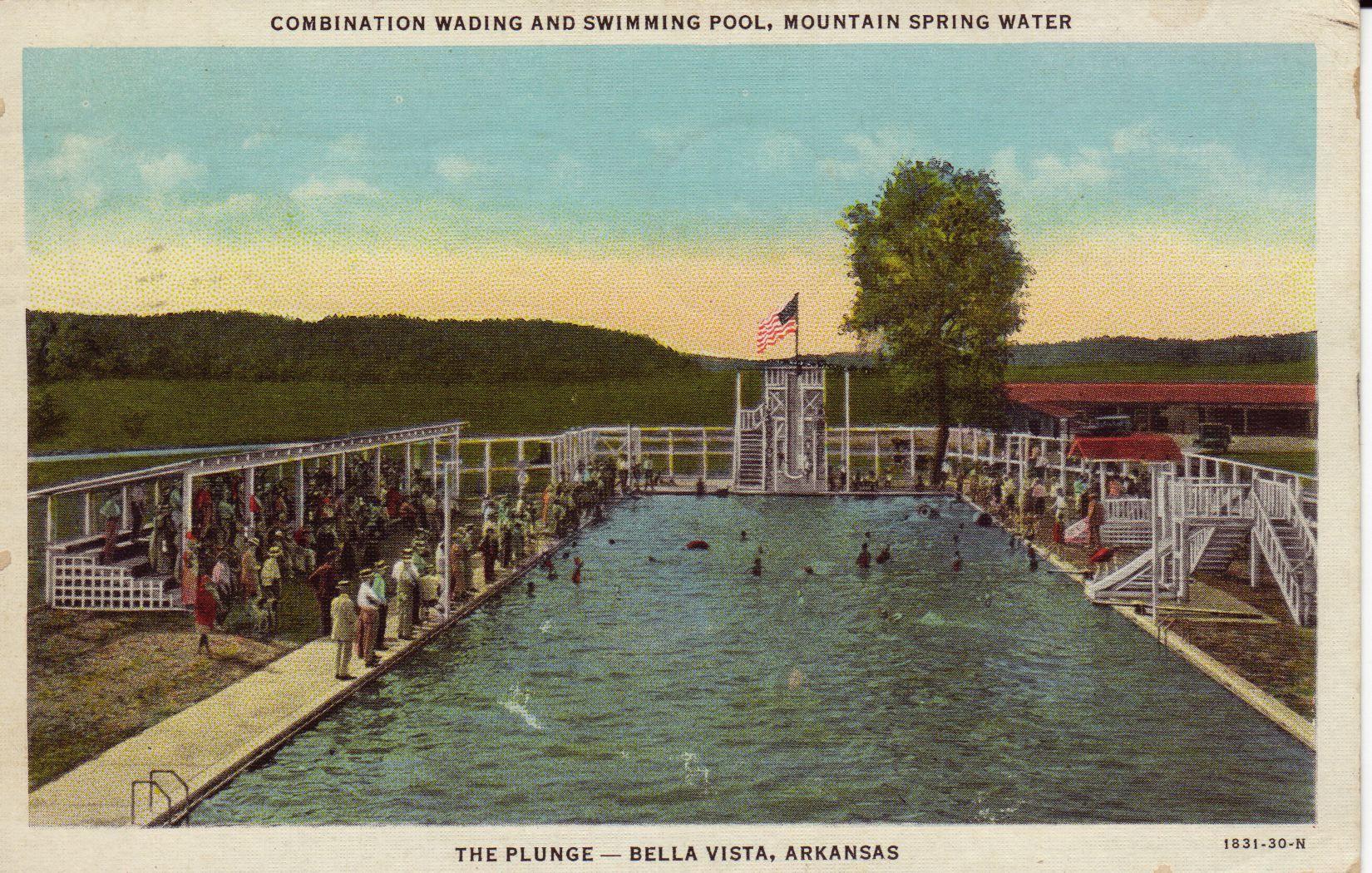 Arkansas bella vista the plunge 1 historic swimming for Bentonville pool