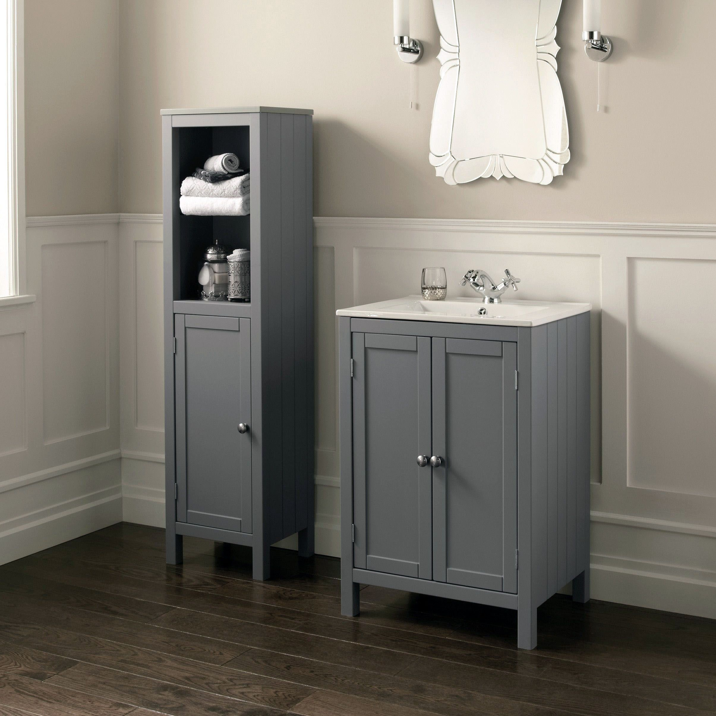 Design Tips To Create A Small Restroom Much Better Bathroom Units Bathroom Vanity Units Bathroom Sink Units