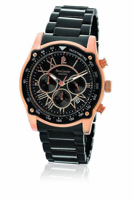 aa0dce33cd64 Pierre Lannier - Reloj Analógico de Cuarzo para Hombre