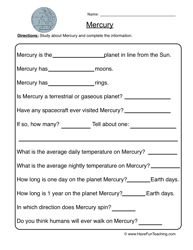 Space Worksheets Page 2 Of 5 Have Fun Teaching Solar System Worksheets Solar System Lessons Have Fun Teaching