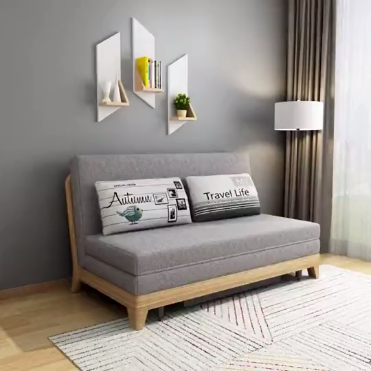 Grey Transitional Sofa Bed Switch Day Bed Sofa Bed Bed Bedsofa Day In 2020 Luxury Furniture Sofa Sofa Bed Design Modern Sofa Living Room