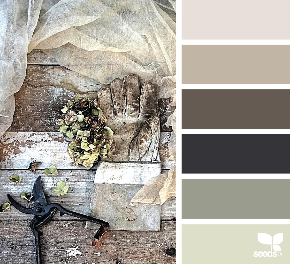 Rustic Color Palettes, House