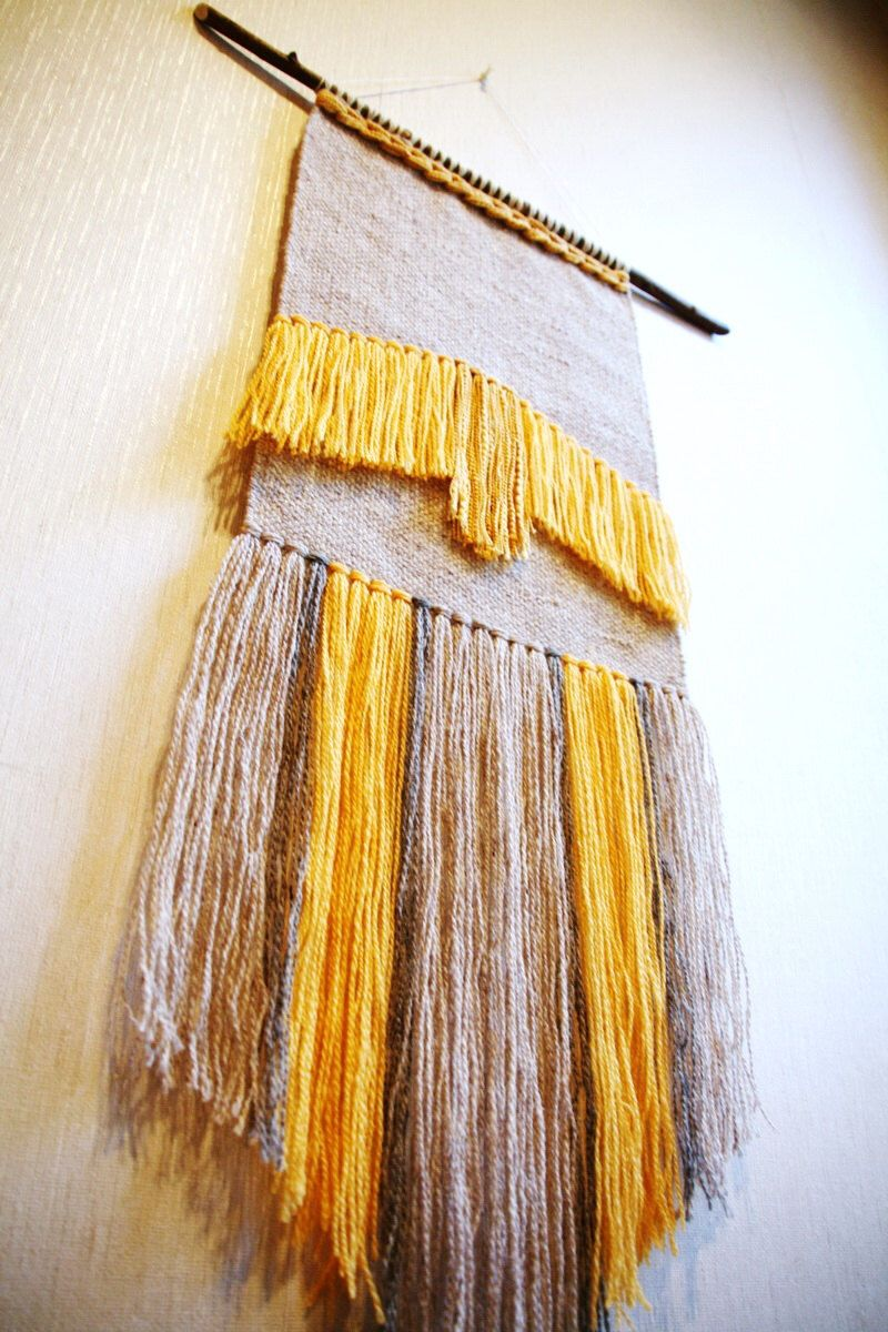 Woven wall weaving tapestry wall hanging, wall weaving, handwoven ...