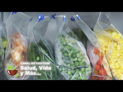 COMO CONGELAR DE MANERA CORRECTA LAS FRUTAS Y VEGETALES - YouTube