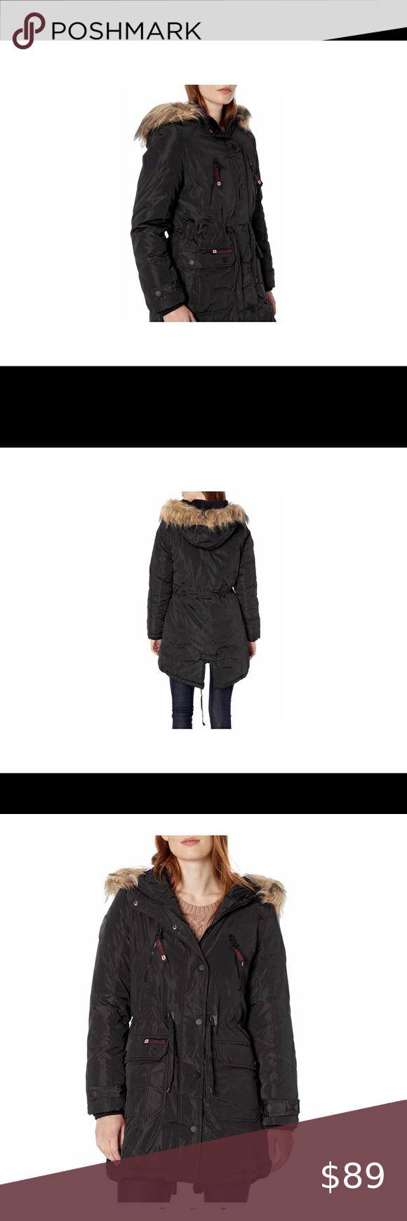 Canada Weather Gear Long Winter Jacket Coat M Long Winter Jacket Winter Coats Jackets Winter Jackets [ 1740 x 580 Pixel ]