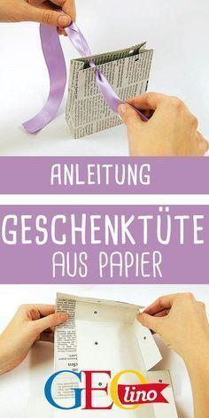 Photo of Make a paper gift bag