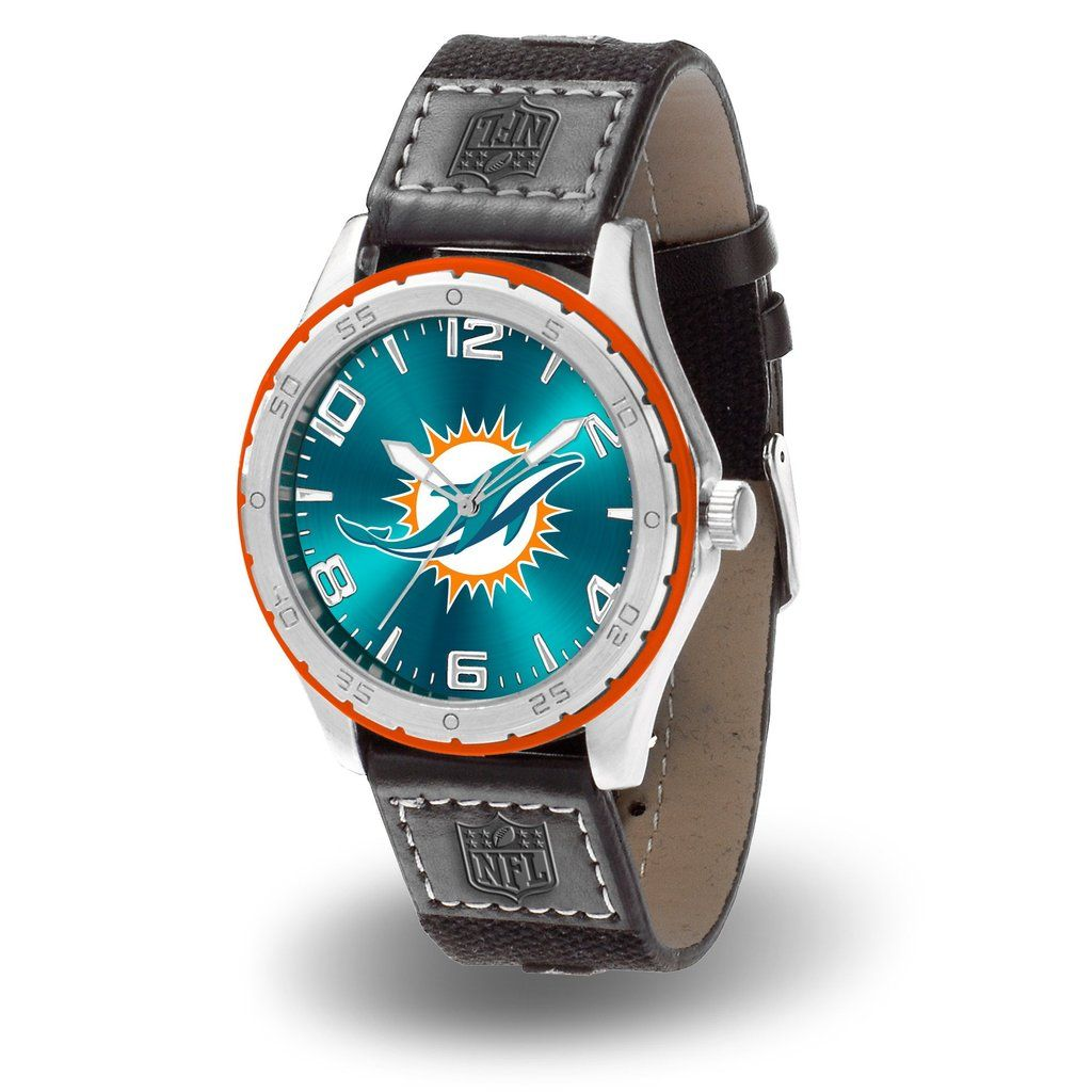 Miami Dolphins Watch Gambit Style Watches for men, Mens