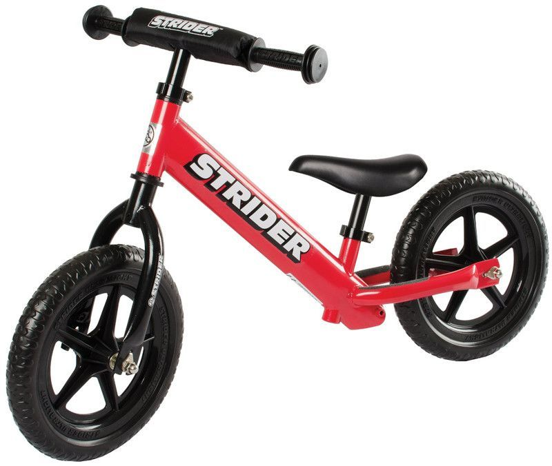 Strider STS4RD 12 Sport RED w/XL Seat Post and Saddle