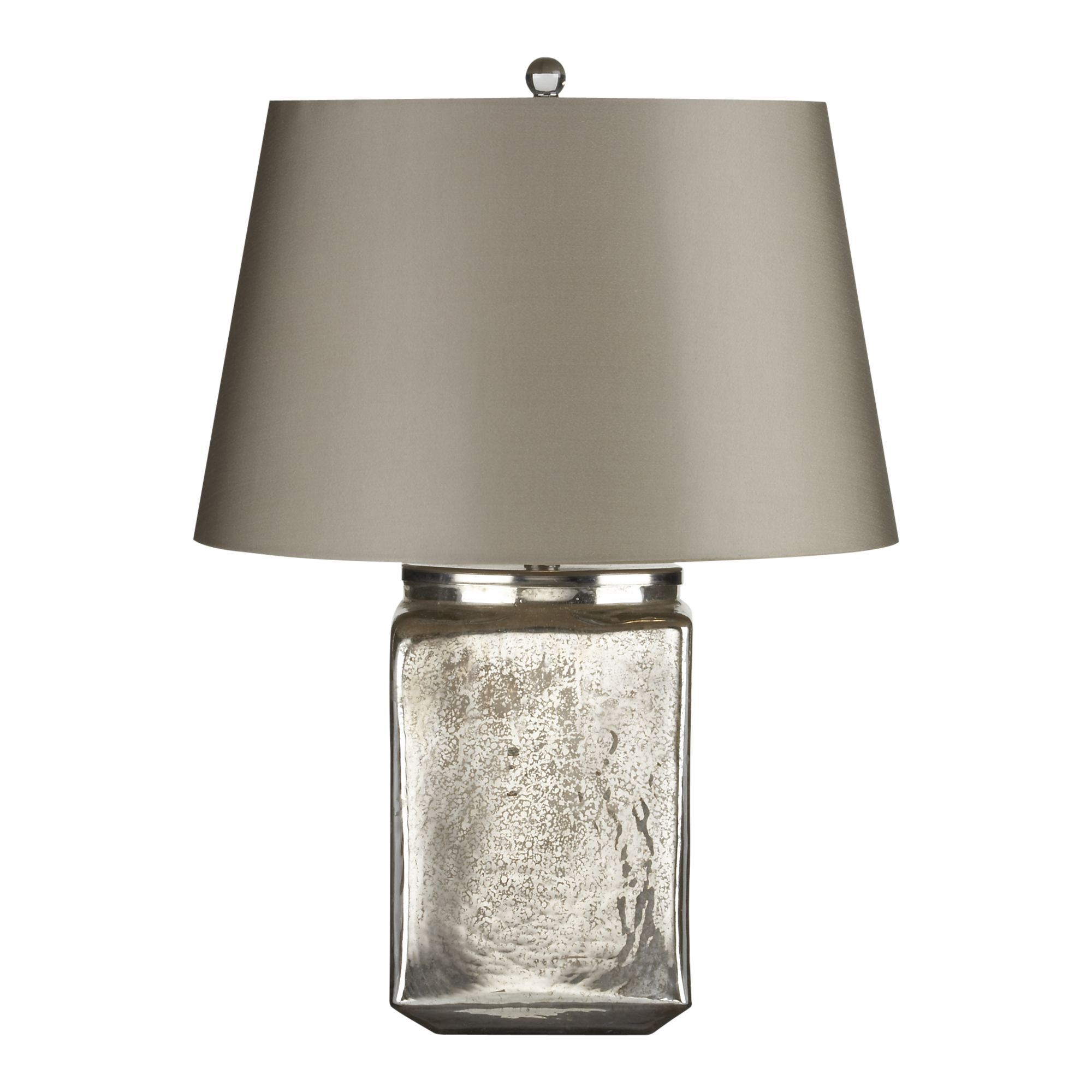 Cane Grey Table Lamp + Reviews Crate and Barrel Grey