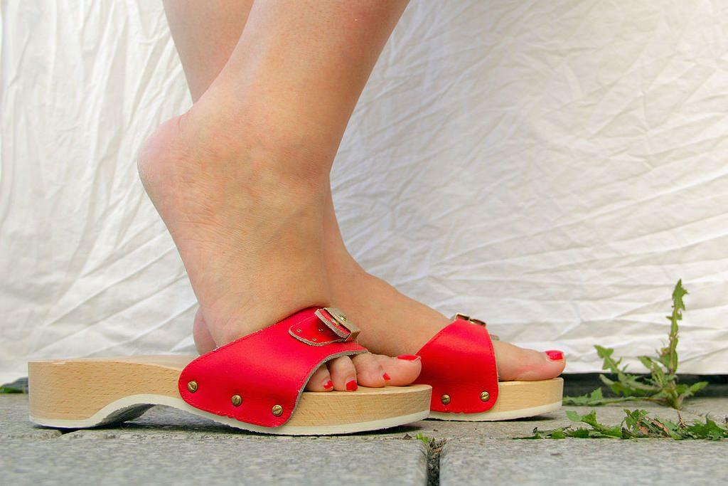 Dr Scholl Pescura Clogs Heeled Clogs Sandals Sandals