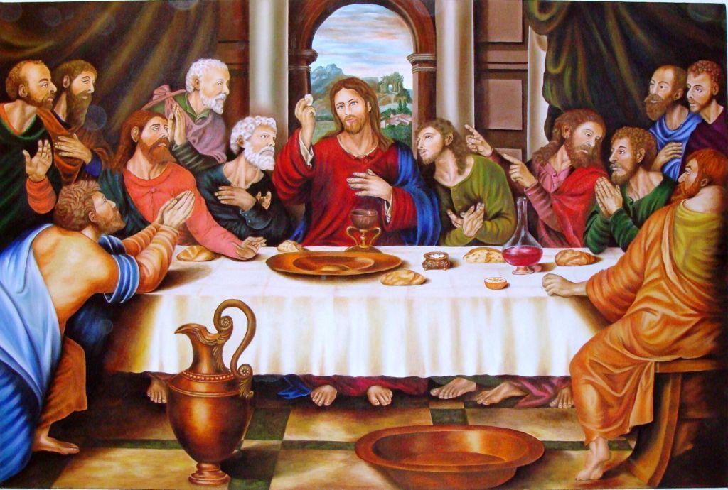 Jueves Santo La última Cena Y La Institución De La Eucaristía La Ultima Cena Ultima Cena De Jesus Arte Biblico
