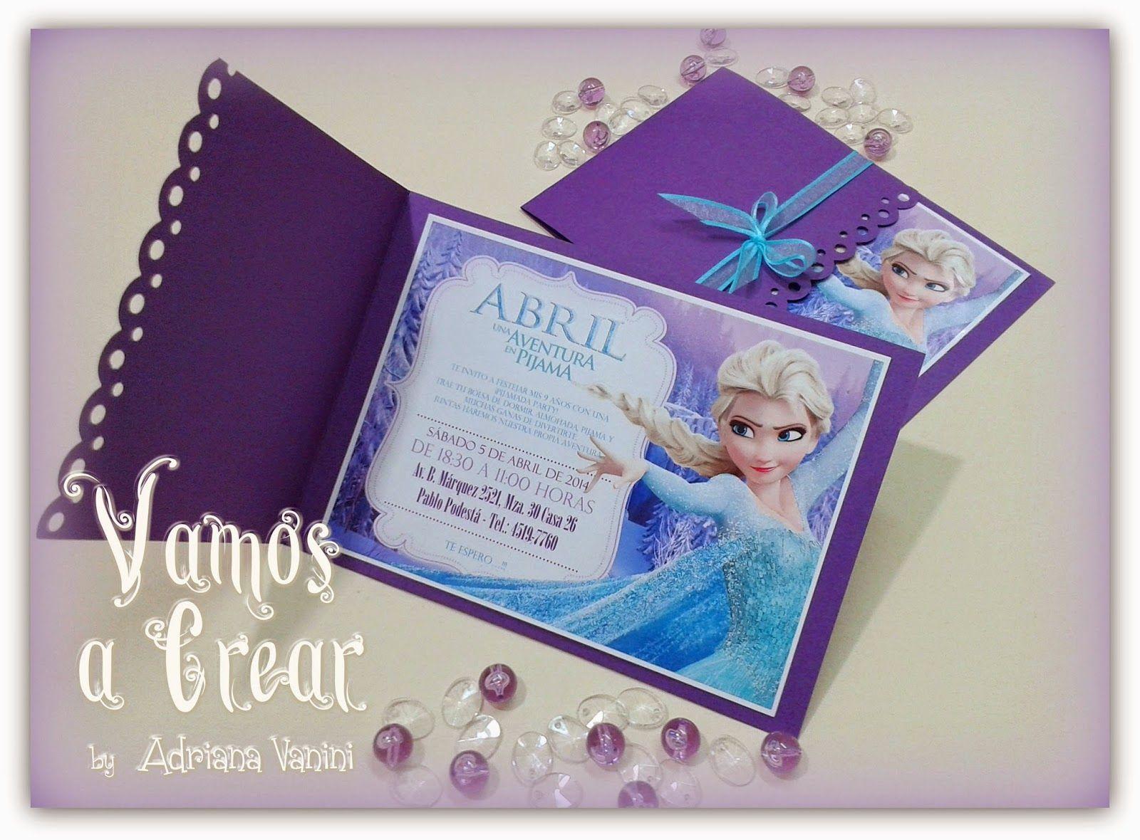 Vamos A Crear By Adriana Vanini Cumpleaños Frozen