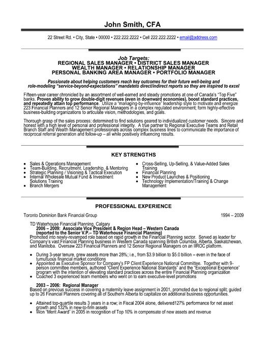 Relationship Manager Resume Business Banking Relationship Manager