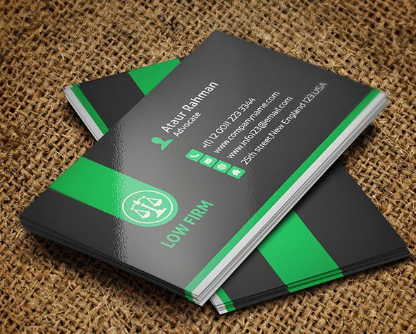 25 Creative Lawyer Business Card Templates Smashfreakz Places To