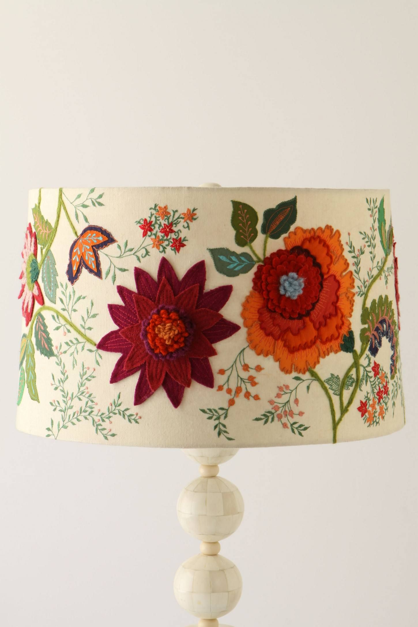 Needlework garden lamp shade needlework lamp shades and embroidery needlework garden lamp shade aloadofball Images