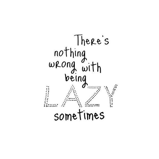 My entire Sunday!!! Felt good sleeping allllllll day. Nothing better than a lazy lazy lazy sunday